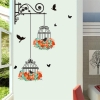 colorful-flower-birdcage-wall-sticker-decals